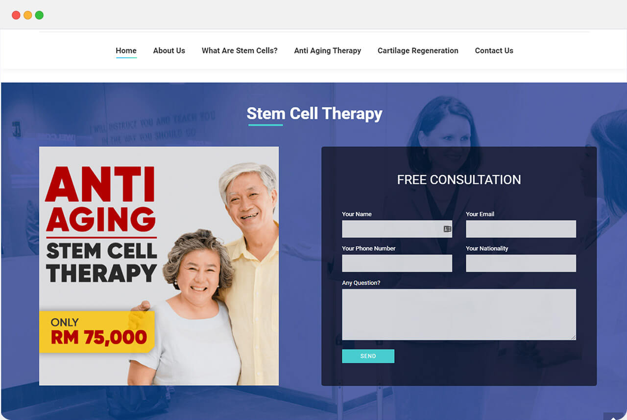 ChamRunDigital Cell Malaysia - Stem Cell Therapy in Malaysia