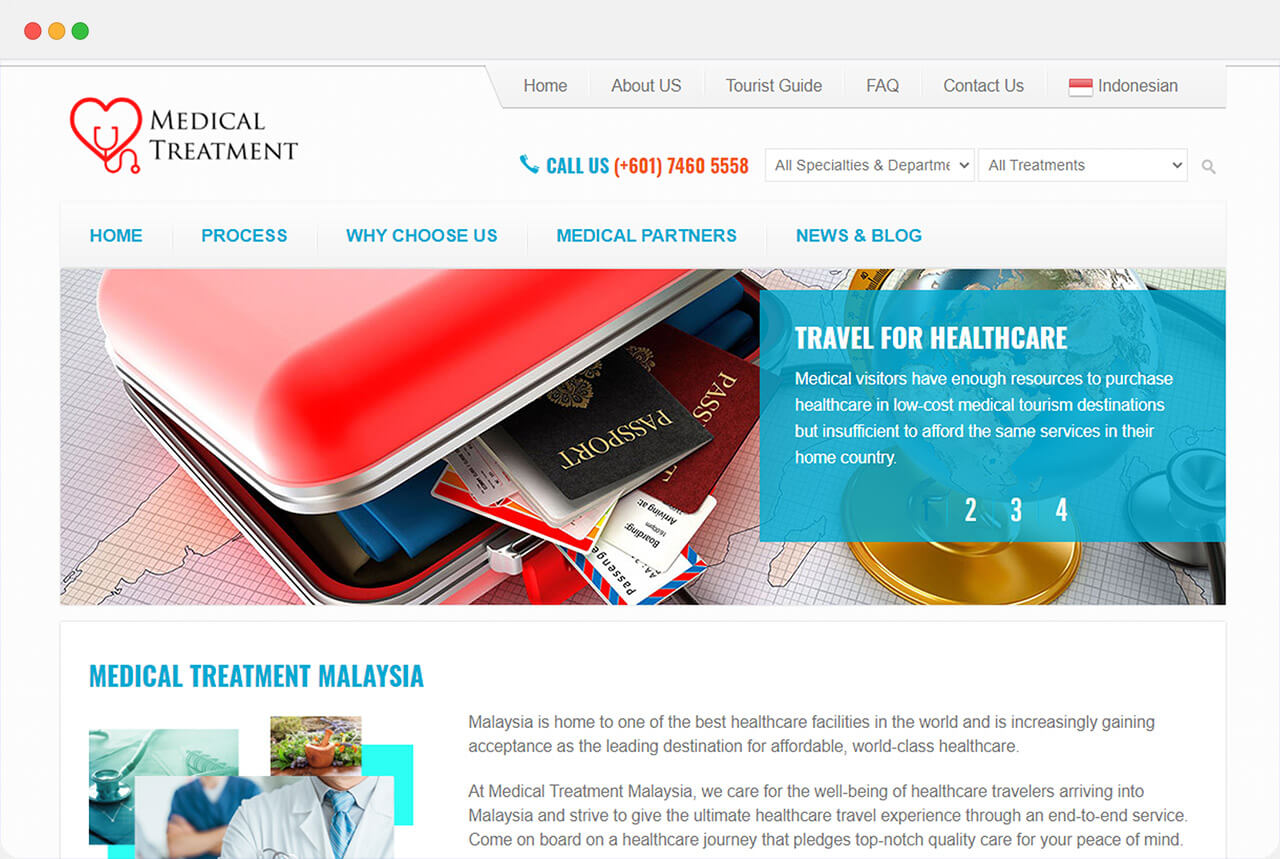 Medical Treatment front page